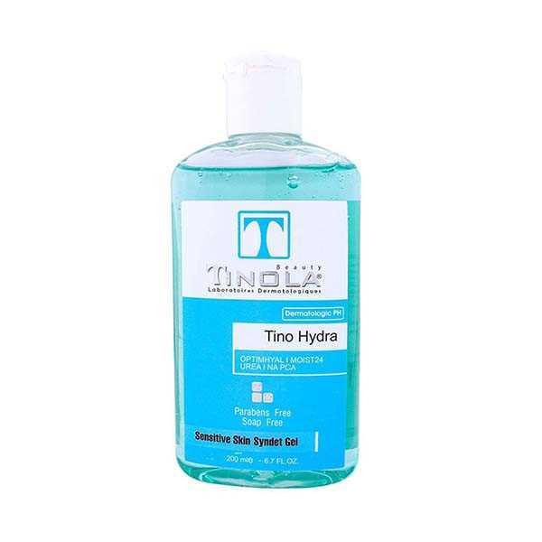 سیندت ژل مخصوص پوست خشك و حساس 220 میلی لیتر تینولا