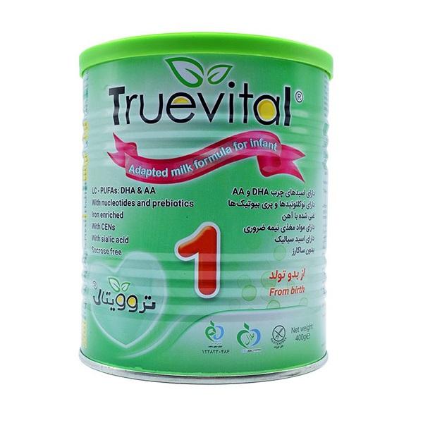 شیر خشك تروویتال 1 برای نوزادان 0 تا 6 ماهگی 400 گرمی نیكسان فارما