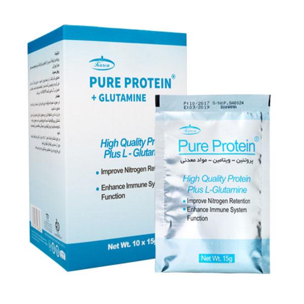 پودر پیور پروتئین 10 عدد 15 گرم كارن