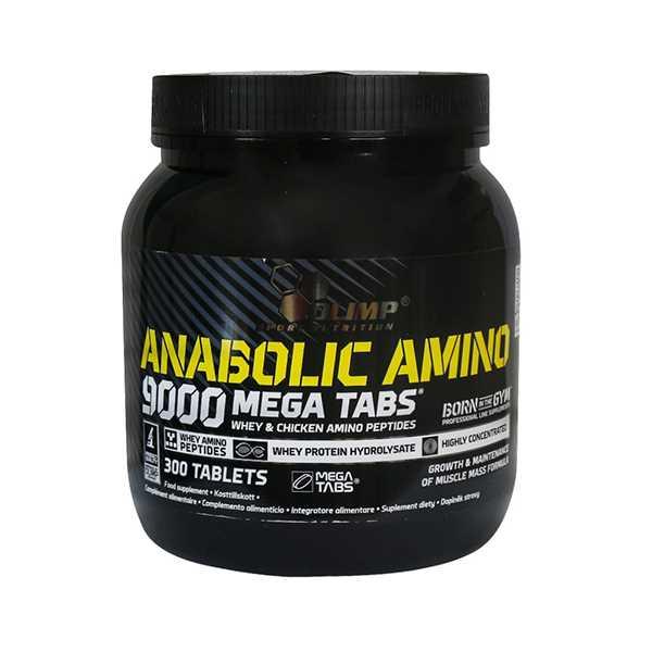 قرص آنابولیك آمینو 9000 300 عدد الیمپ