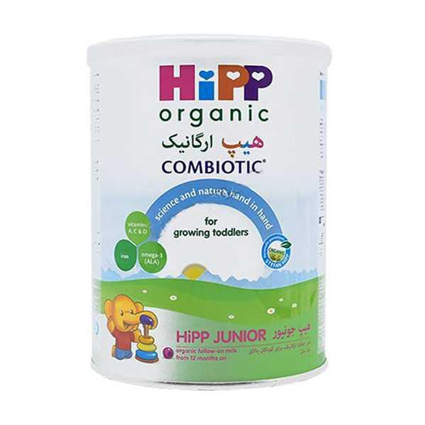 شیرخشك ارگانیك برای كودكان بالای یك سال 350 گرم هیپ ارگانیك