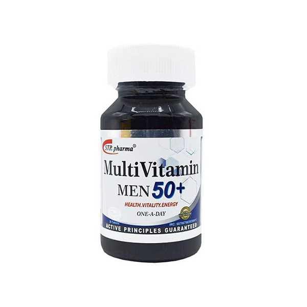 مولتی ویتامین مردان بالای 50 سال 30 عددی اس تی پی فارما