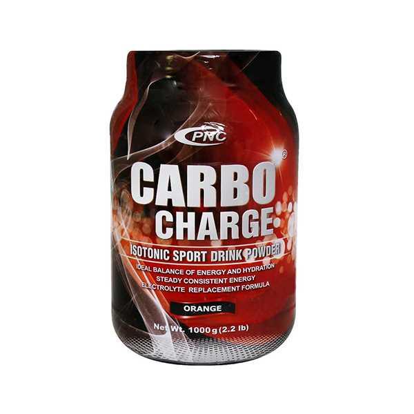 پودر كربو شارژ با طعم پرتقال 1000 گرم پی ان سی كارن