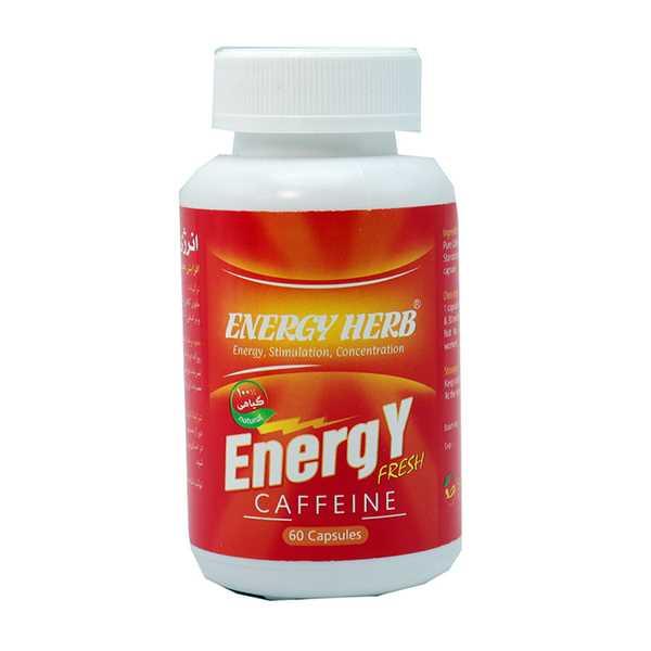 كپسول انرژی هرب 60 عددی بهتا دارو