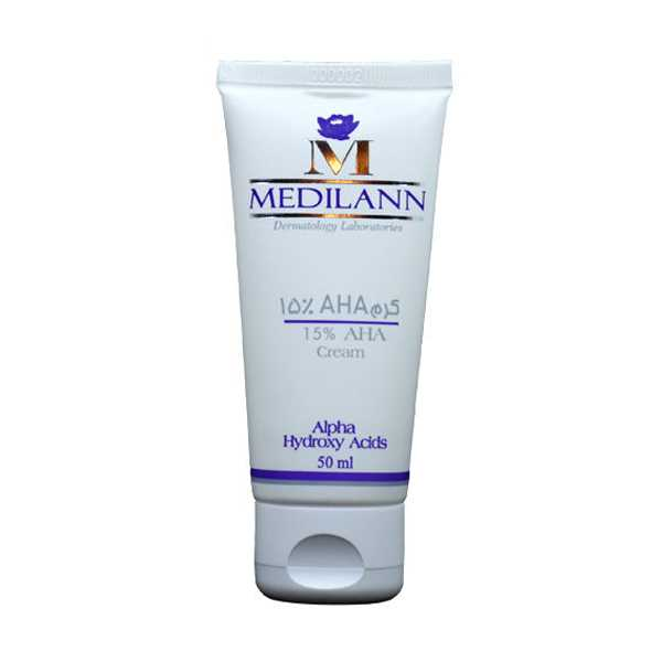 كرم لایه بردار آ اچ آ 15 درصد انواع پوست 50 میلی لیتر مدیلن