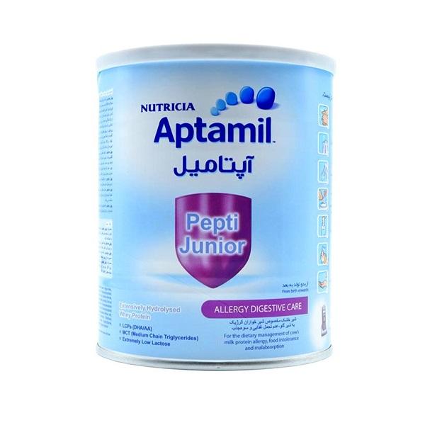 شیرخشك آپتامیل پپتی جونیور 400 گرم نوتریشیا