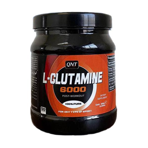 پودر ال گلوتامین 6000 300 گرم كیو ان تی